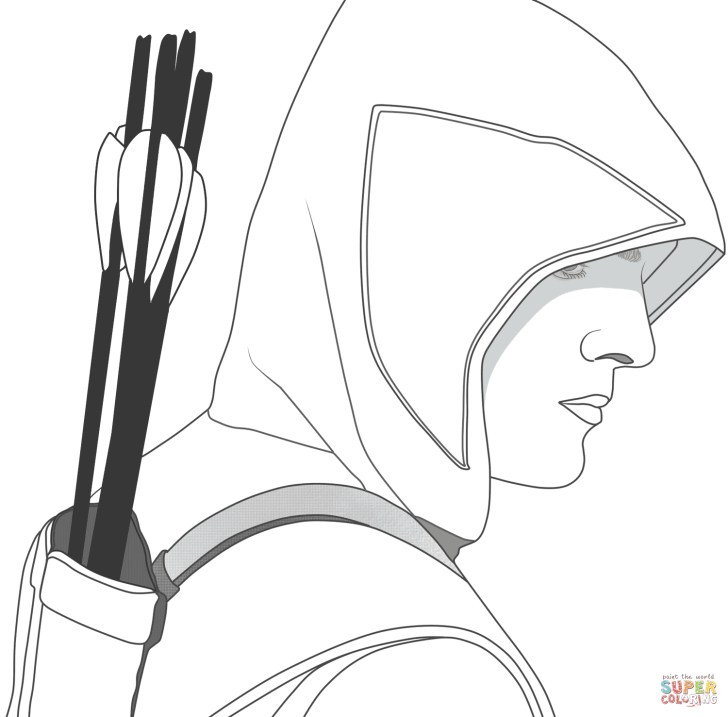 27+ Exclusive Image of Arrow Coloring Pages