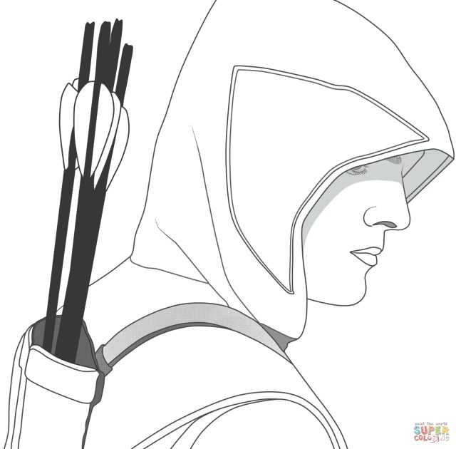 Arrow Coloring Pages Green Arrow Coloring Pages Free Coloring Pages