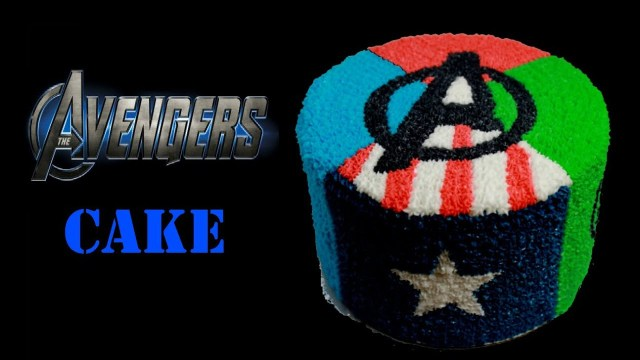 Avengers Birthday Cakes Marvel Avengers Birthday Cake Youtube