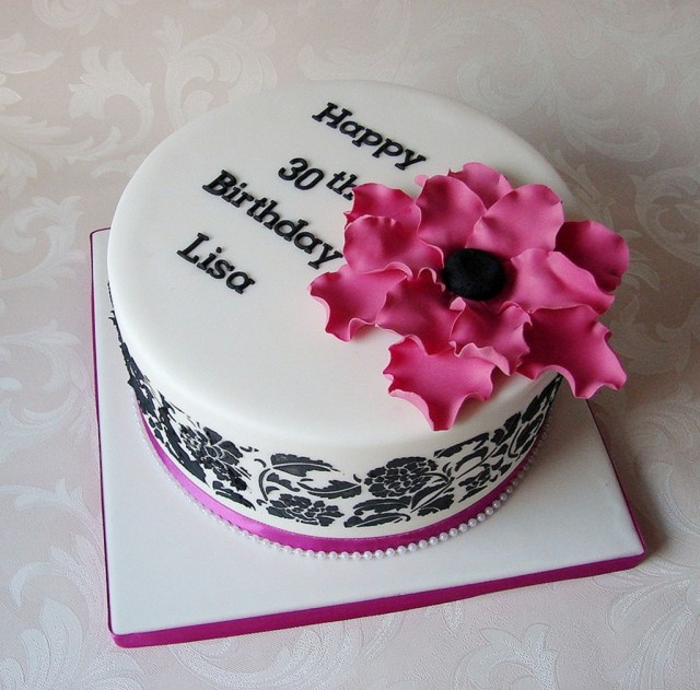 Awesome 30Th Birthday Cakes 30th Birthday Cakes Ideas For Women Birthday Cake Cake Ideas In The