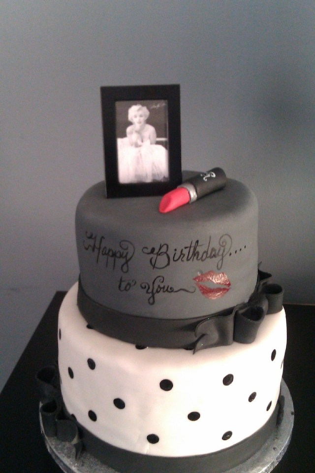 Awesome 30Th Birthday Cakes Marilyn Birthday Cakes