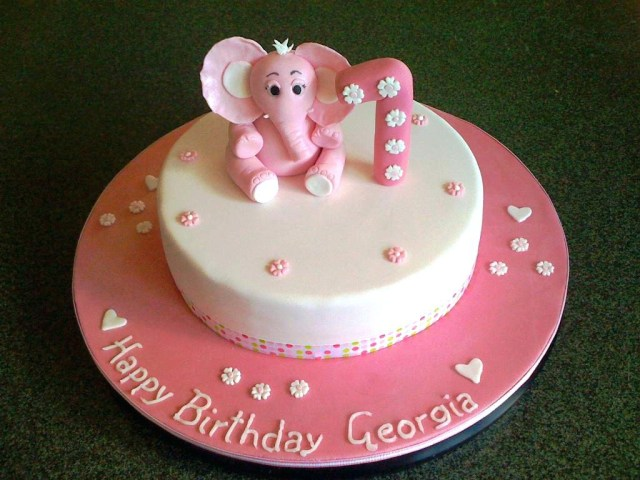 Baby Girl Birthday Cake Ba Girl Birthday Cake Ideas 1 Best Cakes Ideas