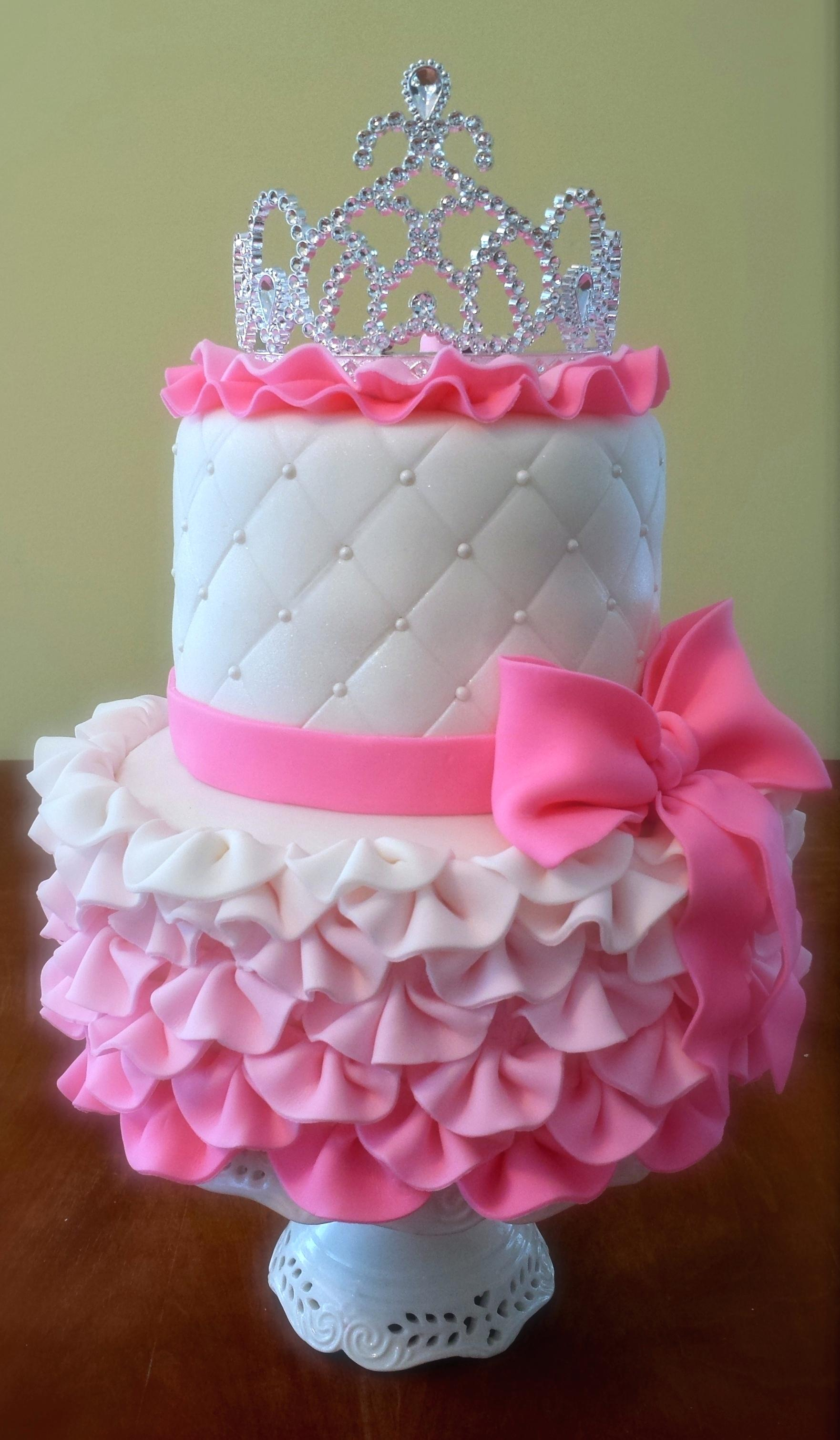 Baby Girl Birthday Cake Ideas For 5 Year