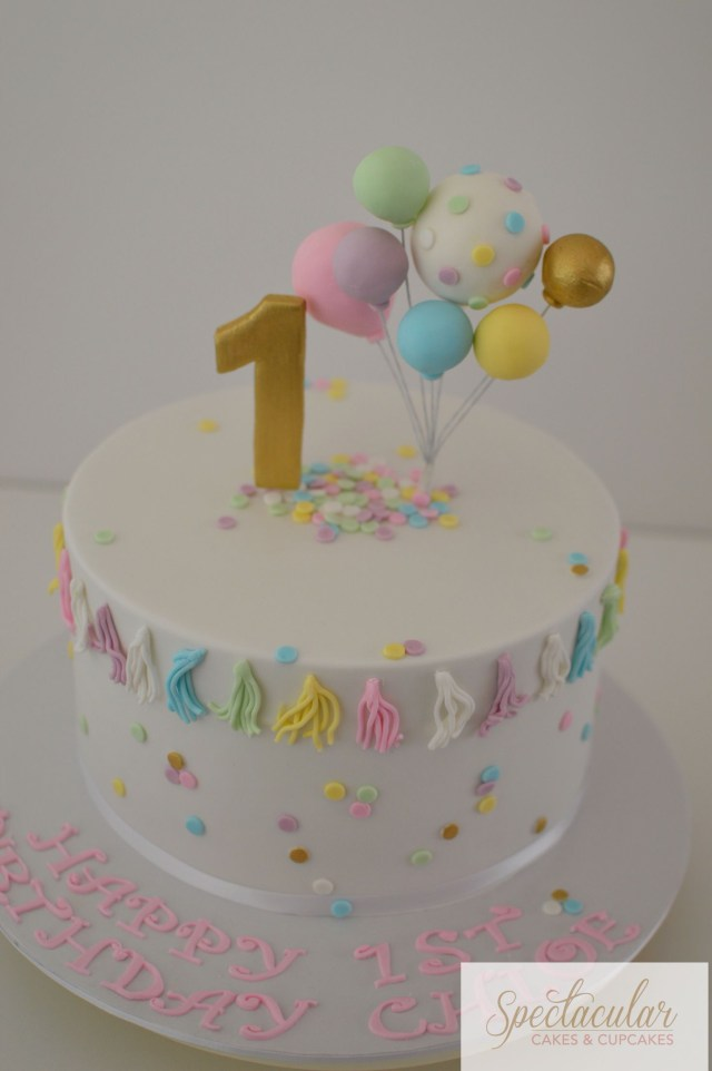 Baby Girl Birthday Cake First Birthday Cake Sydney Cakes Celebration Cakes Ba Cakes