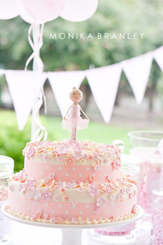 Ballerina Birthday Cake Ballerina Birthday Party Cake Wwwlifeandba Party
