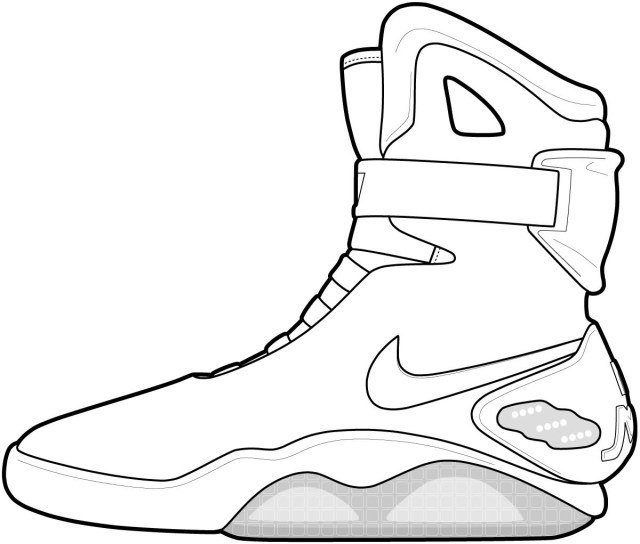 Basketball Coloring Pages Basketball Shoe Coloring Pages 6 Page Tingameday