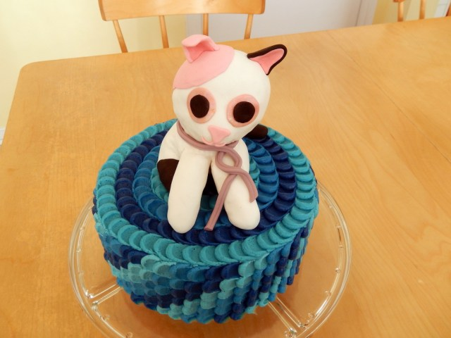 Beanie Boo Birthday Cake Beanie Boo Cat Cakecentral