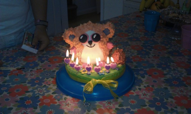 Beanie Boo Birthday Cake Simple Things A Beanie Ba Birthday Cake
