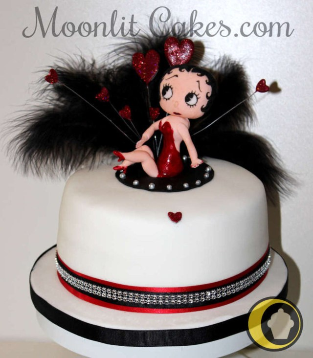 Betty Boop Birthday Cakes My Betty Boop Birthday Cake For My Friend Consisted Of A Vanilla