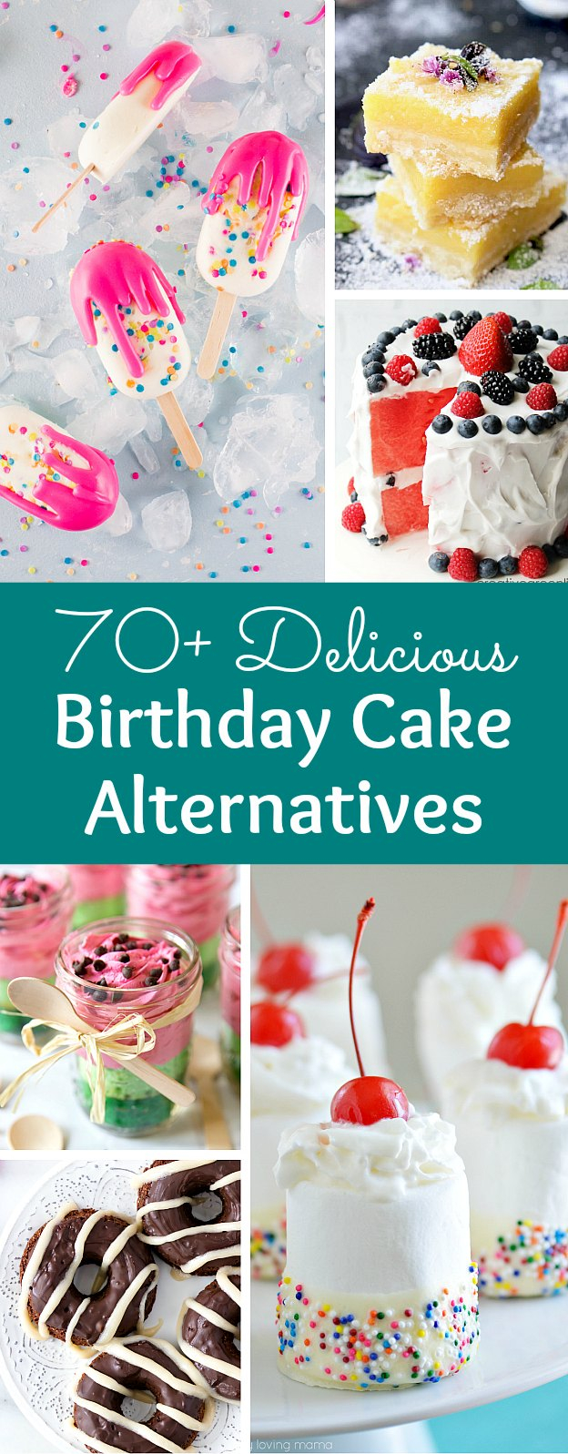 Birthday Cake Alternatives 70 Creative Birthday Cake Alternatives Hello Little Home