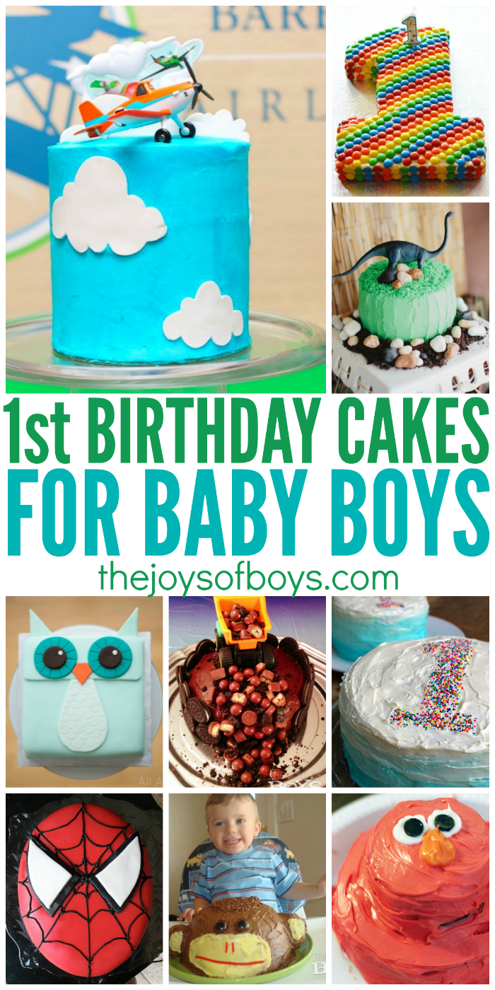 Birthday Cake Boy 25 First Cakes For Boys Perfect 1st Party