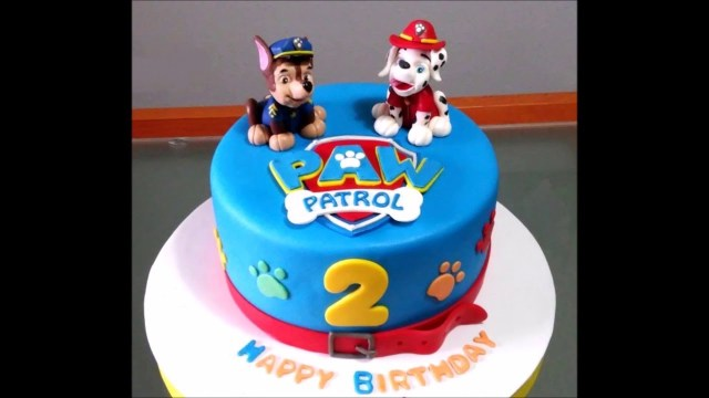 Birthday Cake Boy Ba Boy 2nd Birthday Cake Youtube