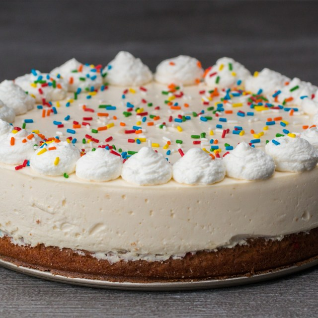 Birthday Cake Cheesecake Birthday Box Cake Bottom Cheesecake Recipe Tasty