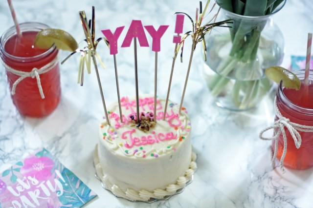 Birthday Cake Drink Birthday Cake And Drink Tableware Jessprainstyle