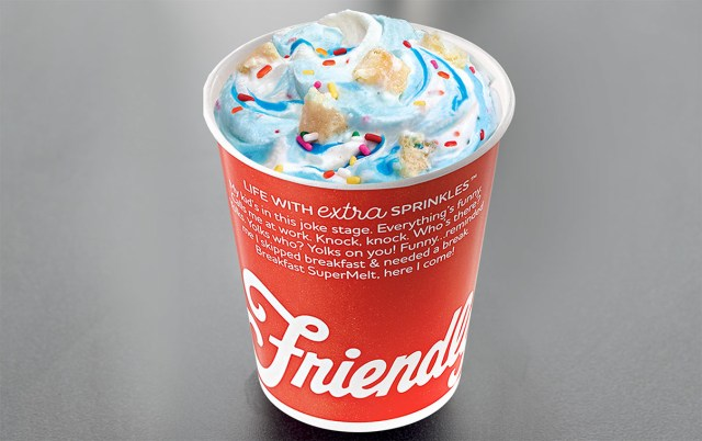 Birthday Cake Drink Birthday Cake Friendlys
