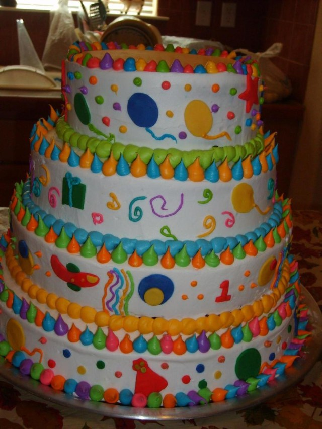 Birthday Cake For 1 Year Old Cakecentral