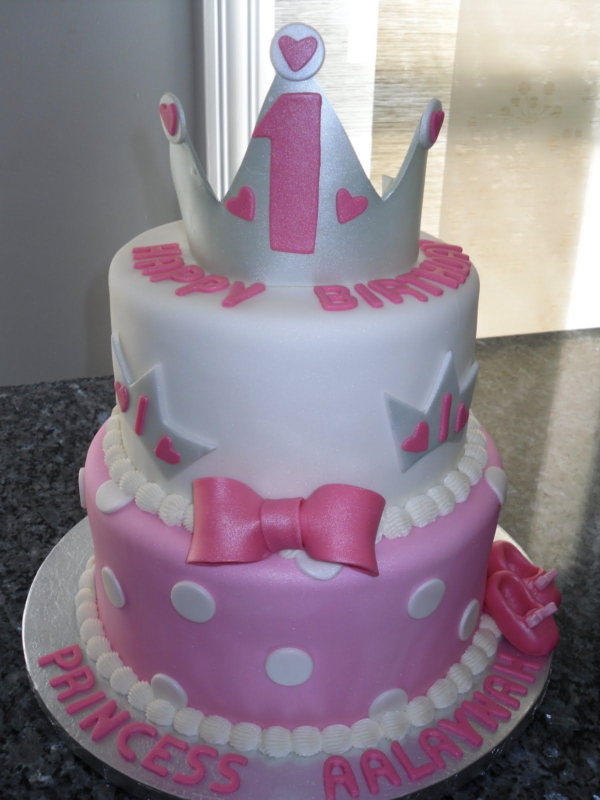 Birthday Cake For 1 Year Old 3 Girls Pictures Princess Cakes Two Very