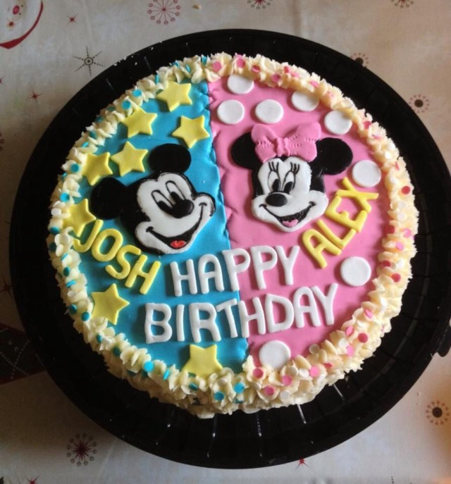 Birthday Cake For Brother Cute Brother Sisters Birthday Cake Twins Sister Birthday Cake