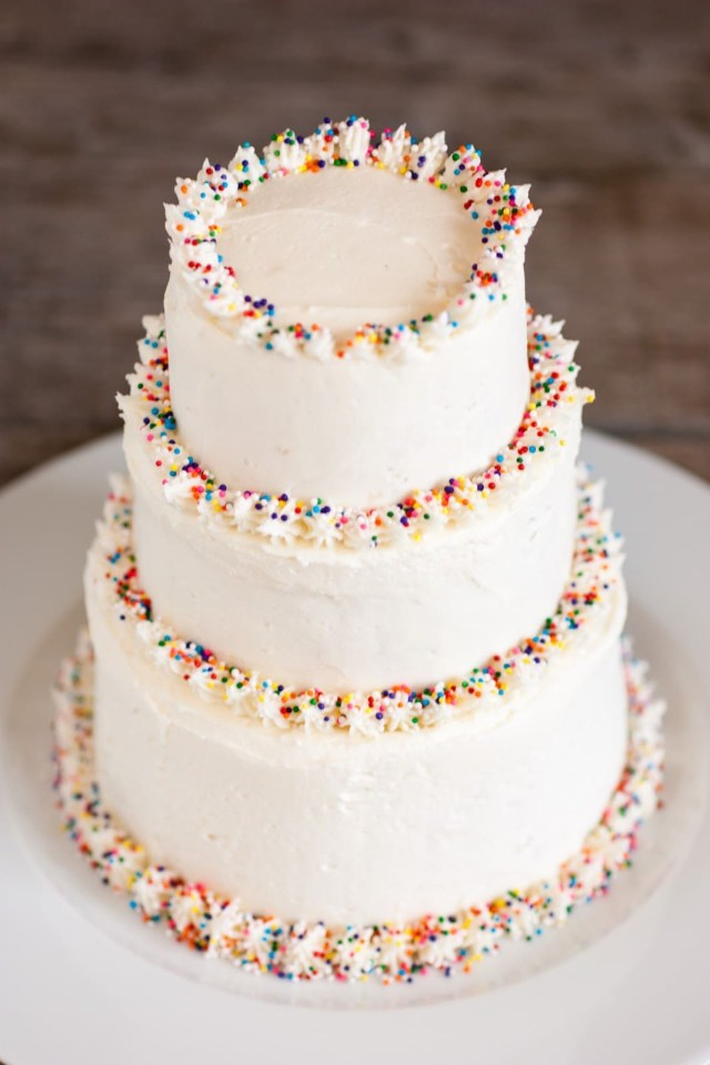 Birthday Cake Frosting Buttercream Frosting Perfect Ratio Best Method Cooking Classy