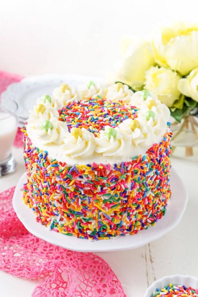Birthday Cake Frosting Funfetti Birthday Cake Sugar Soul