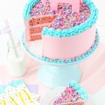 Birthday Cake Frosting How To Frost A Smooth Cake With Buttercream Life Love And Sugar