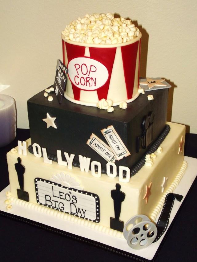 Birthday Cake Movie Suzys Sweet Shoppe Movie Themed Birthday Cake
