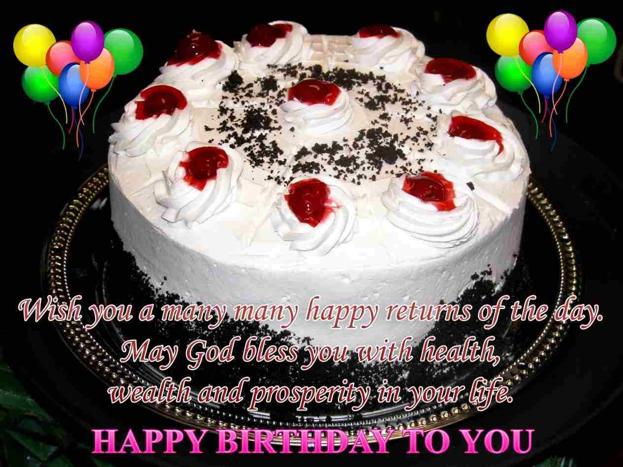 Birthday Cake Picture Free Download Happy Birthday Wishes Ecards