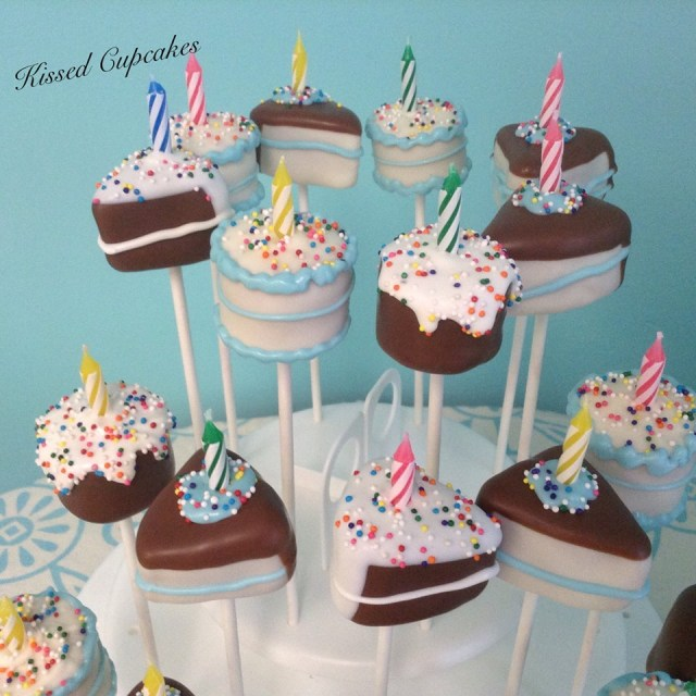 Birthday Cake Pops Kissed Cupcakes Its Our Little Secret Kissed Cupcakes