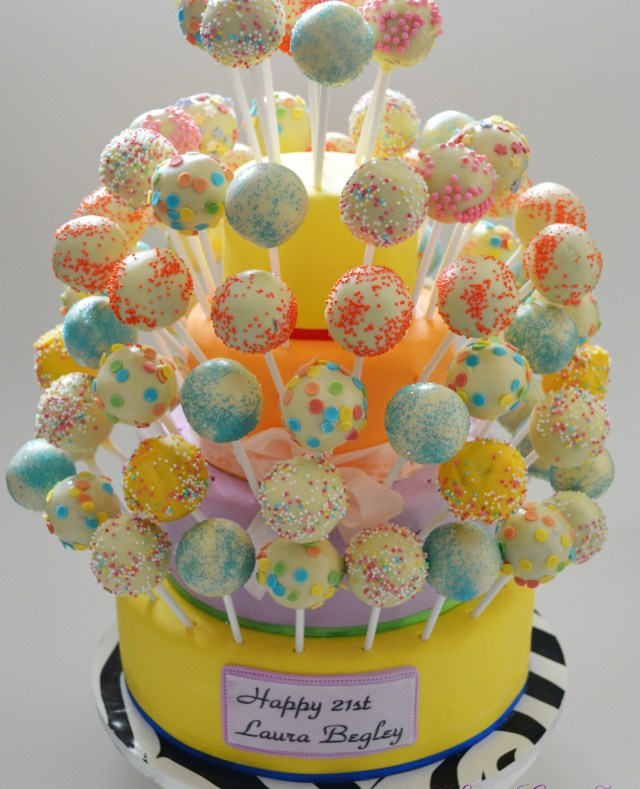 Birthday Cake Pops Online Cake Pop Ordering Min Order 25 Elite Cakes Boutique