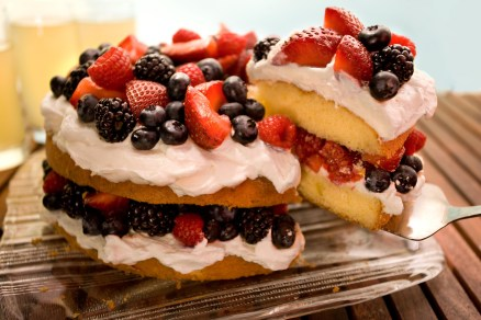 Birthday Cake Recipes Easy Berry Butter Cake Recipe Chowhound