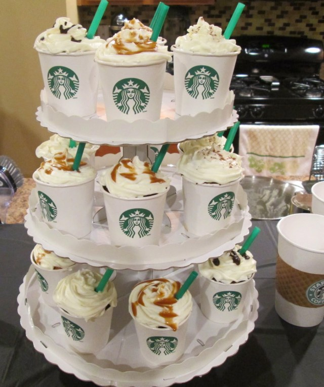 Birthday Cake Starbucks Style Life Lovely How To Starbucks Party