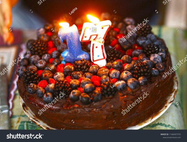 Birthday Cakes For 17 Yr Old Girl Birthday Cake 17 Year Old Girl Stock Photo Edit Now 1168497370