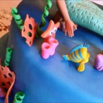 Birthday Cakes For 8 Years Old Girl The Little Mermaid Girls Birthday Cake Youtube
