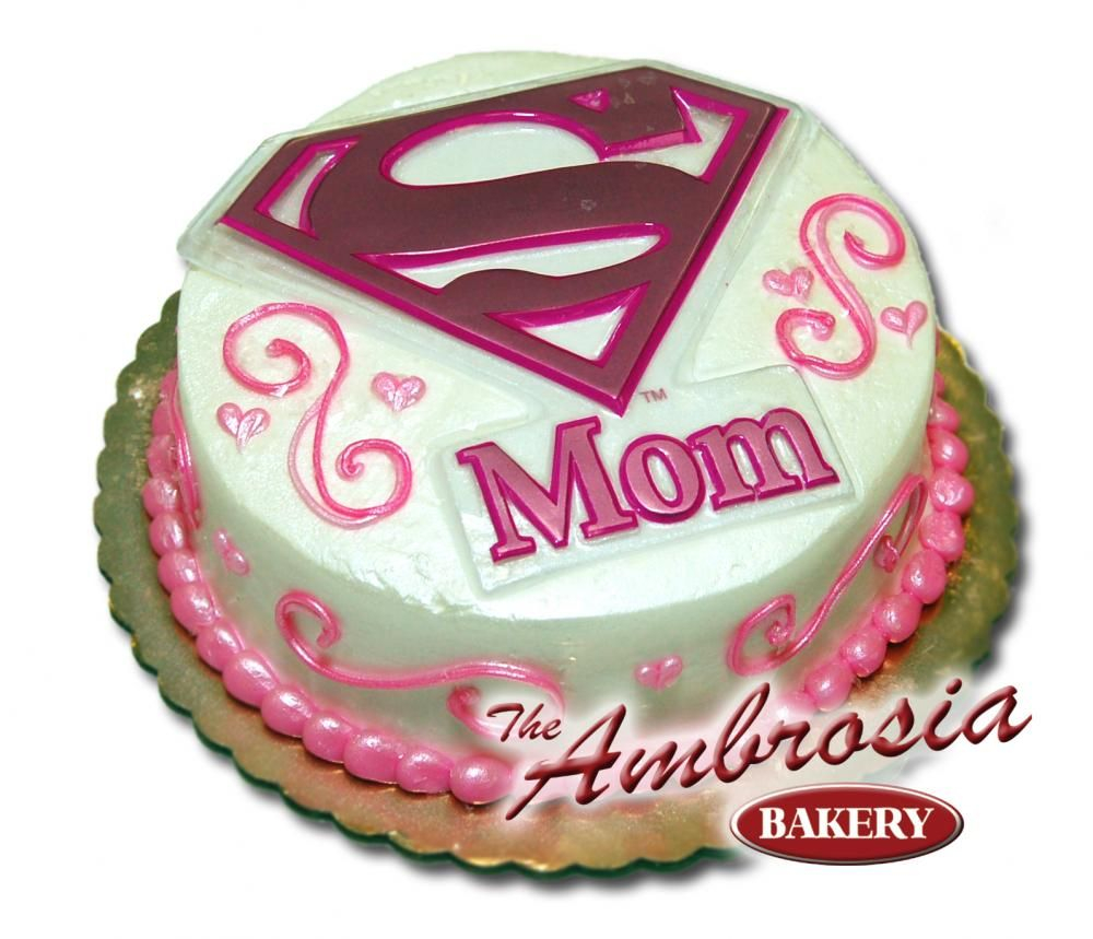 Birthday Cakes For Mom Mommy Know How Super She Is With This