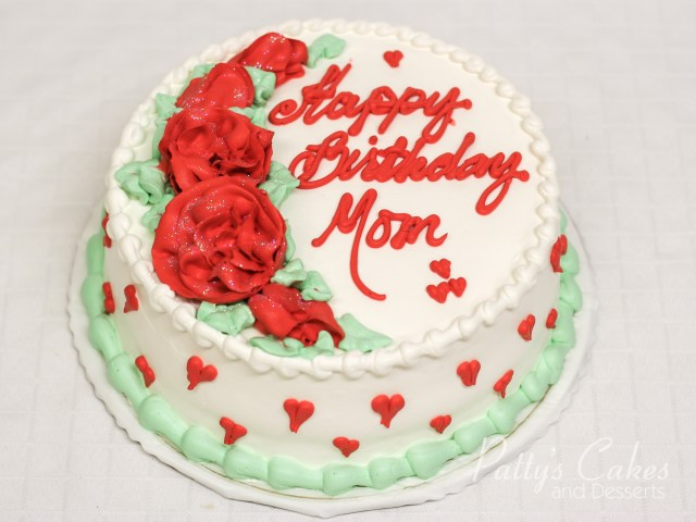 Birthday Cakes For Mom Photo Of A Love Birthday Cake Mom Pattys Cakes And Desserts