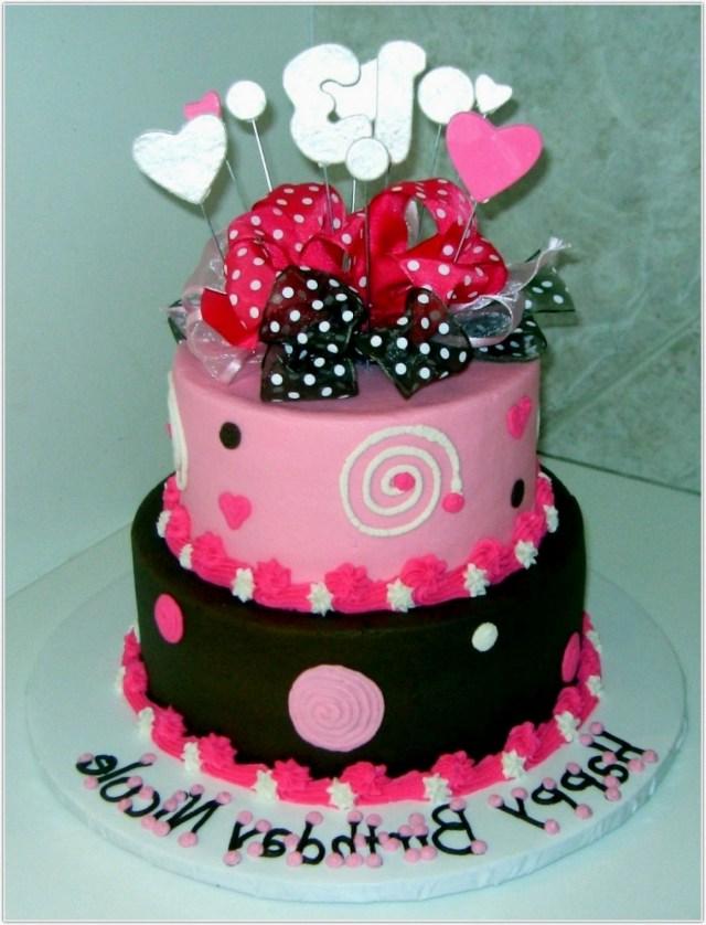 Birthday Cakes For Teenage Girl Birthday Cakes For Teenage Girl Cake Girls Awesome From To