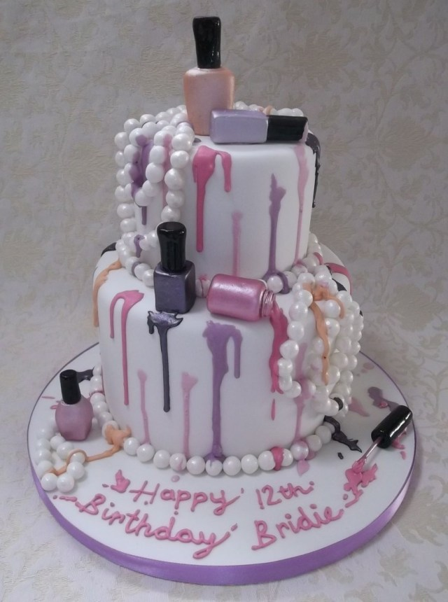 Birthday Cakes For Teenage Girl Phenomenal Teenage Girl Birthday Cakes Ideas Tween Cake