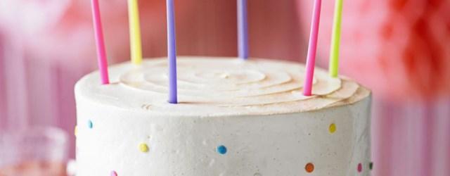 Birthday Party Cakes Vanilla Party Cake Recipe Bbc Good Food