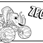 Blaze Coloring Pages 28 Free Draw Nick Jr Lovely Easy Blaze Coloring Pages Now Free Top