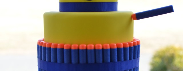 Boys Birthday Cakes Nerf Gun Birthday Cake For All Your Cake Decorating Supplies