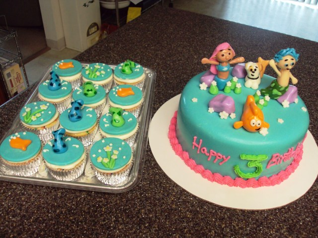 Bubble Guppies Birthday Cake Bubble Guppies Birthday Cake Supplies For The Party Protoblogr Design