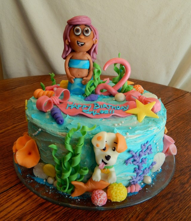 Bubble Guppies Birthday Cake Bubble Guppies Cake Cakecentral