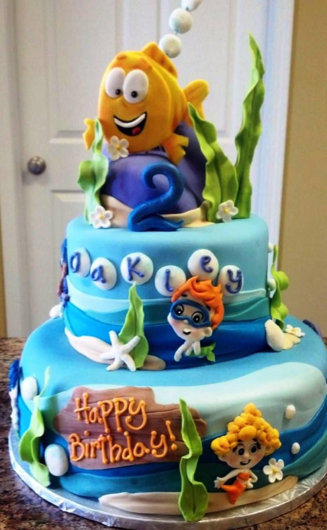 Bubble Guppies Birthday Cake Home Tips Bubble Guppies Birthday Cake For Children Party Surprise