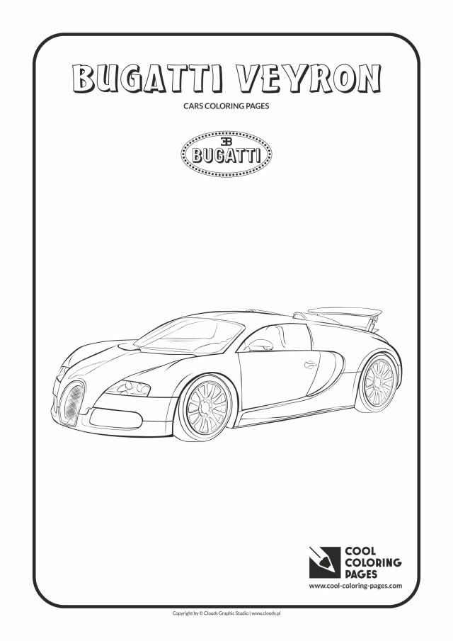 Bugatti Coloring Pages Cool Coloring Pages Bugatti Veyron Coloring Page Cool Coloring