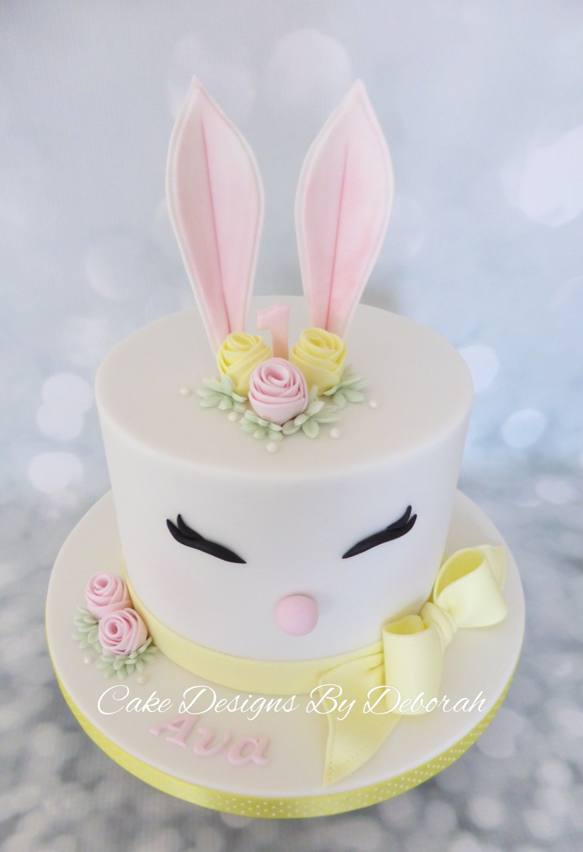 34+ Amazing Photo of Bunny Birthday Cake
