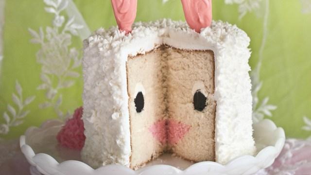 Bunny Birthday Cake Easter Bunny Cake Today