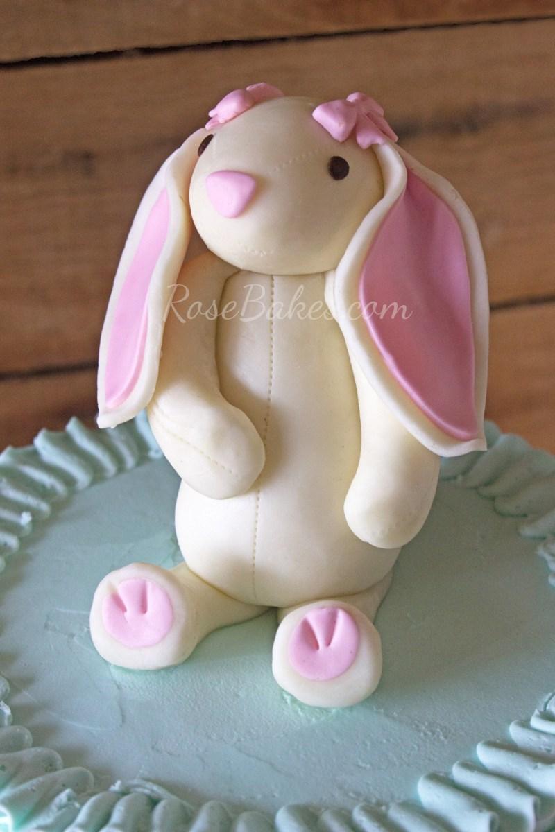 Bunny Birthday Cake Some Bunny Is One Birthday Cakes Rose Bakes