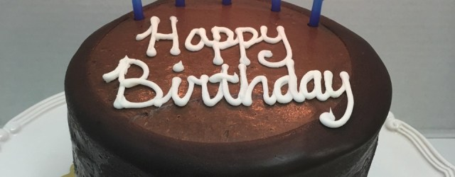Cake Happy Birthday Moist Chocolate Layer Cake Tall Birthday Cake Fort Lauderdale