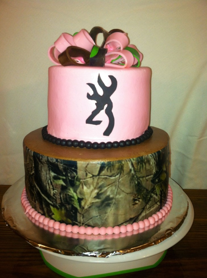 25+ Excellent Picture of Camo Birthday Cake
