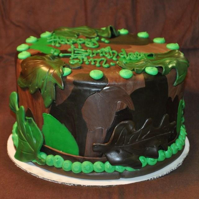 Camo Birthday Cake Camouflage Birthday Cakes